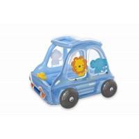 """Игровой центр """"Машинка с животными""""Intex 48661 (142х135х99см)"""