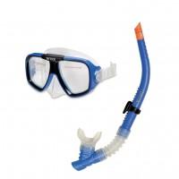 Набор для плавания Intex Reef Rider (маска 55974+ трубка 55928, от 8 лет) 55948