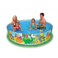 """Детский каркасный бассейн """"Коралловые рифы"""" (244х46см) 58472"""