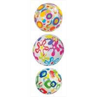"""Мяч """"Узоры"""" разноцветный (61см) 59050"""