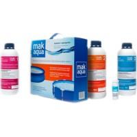 MAK AQUA. Комплект препаратов для дезинфекции воды в бассейне (10013)