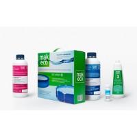 MAK ECO. Комплект препаратов для дезинфекции воды в бассейне. БЕЗ ХЛОРА 10020
