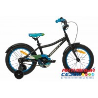 """Велосипед ASPECT Spark (16"""" 1 скор.) (Цвет: черный) Рама Алюминий"""
