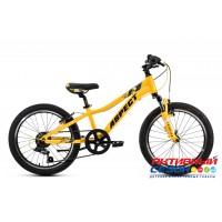 "Велосипед ASPECT CHAMPION (20"" 6 скор.) (Цвет: Желтый, Синий) рама Алюминий"