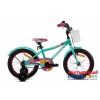 """Велосипед ASPECT MELISSA (16"""" 1 скор.) (Цвет: Зеленый) рама Алюминий"""