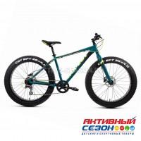 "Велосипед Фэтбайк Aspect Discovery (26"" 8 скор.) (Р-р = 20"";  Цвет: Сине-зеленый) Рама Алюминий"