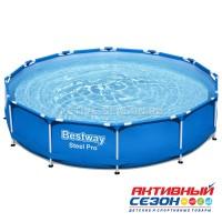 Бассейн каркасный  244 х 76 см, с фильтр-насосом 5614С Bestway