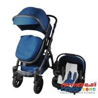 Luxmom 600G (Gold Baby) 3в1 (синий)