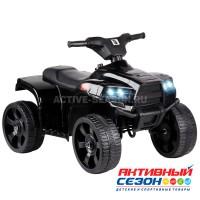 Квадроцикл свет, звук (мелодии Шаинского), пластиковые колёса, цвет черный
