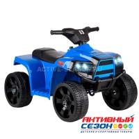 Квадроцикл свет, звук (мелодии Шаинского), пластиковые колёса, цвет синий