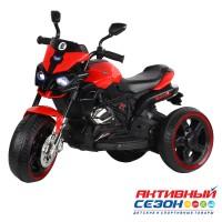 Мотоцикл трехколесный на аккумуляторе с функцией водяного пара, аккум 6V4Ah*1, 1*20W, Цвет красный