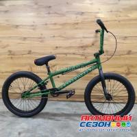 """Велосипед TechTeam Grasshopper (20"""", 1 скор.) (Р-р= 20.5"""", Цвет: зеленый) Рама сталь"""