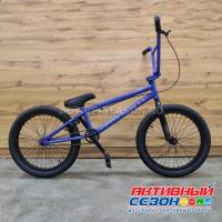 "Велосипед TechTeam Grasshopper (20"", 1 скор.) (Р-р= 20.5"", Цвет: синий) Рама сталь"