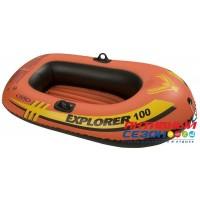 "Лодка ""Explorer"" 100, 1-мест. (147х84х36см) 58329 INTEX"