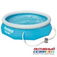 Бассейн Fast Set 305 х 76 см (в комплекте: насос с фильтром 220V) 57270