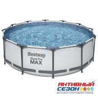 Бассейн каркасный Steel Pro Мах 366 х 100 см (фил. насос, лестница) 56418