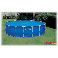 Тент солнечный прозрачный для бассейнов (488см) Intex