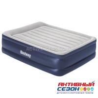 Кровать надувная Queen 203 х 152 х 56 см со встроенным электронасосом 67614