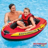 "Надувная Лодка ""Explorer Pro 50"" (137х85х23см) (58354) INTEX"