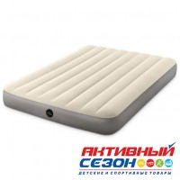 Надувной матрас Intex Deluxe Single-High (137х191х25 см) 64708/64102