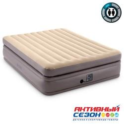 Кровать Prime Comfort Elevated Fiber-Tech 152х203х51см со встр.насосом 220В (64164)