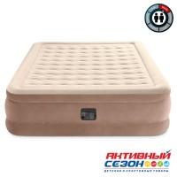 Кровать Ultra Plush Fiber-Tech 152х203х46см со встр.насосом 220В (64428)