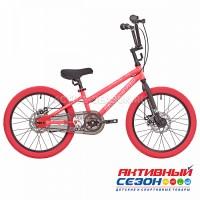 """Велосипед RUSH HOUR FOX (20"""", 1 скор.) (Р-р= 20.5"""", Цвет: розовый ) Рама сталь"""