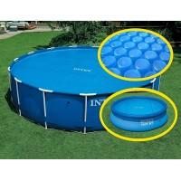 Тент солнечный прозрачный для бассейнов (457см) (29023)