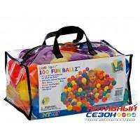 Мячики для игровых центров и сухих бассейнов Intex 100шт. (диаметр 6,5см) 49602