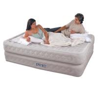 Надувная кровать INTEX Supreme Air-Flow Bed с встроенным насосом 220В (152х203х51см) 64464
