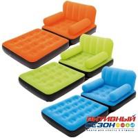 Надувное кресло-трансформер BestWay (191 х 97 х 64 см.) 67277