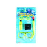 Набор для плавания детский S-2 (маска+очки+трубка+бокс+сумка)