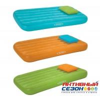 Надувной детский матрас с подушкой Intex (157х88х18 см) 66801