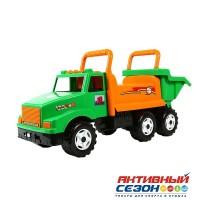 Каталка 211 Машина зеленая для катания детей