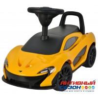 Каталка 372A Машина McLaren P1 для катания детей, со звуком, до 23кг, в коробке
