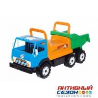 Каталка 412_З Машина зеленая для катания детей