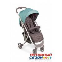 "Прогулочная коляска HAPPY BABY ""ELEGANZA V2"" (aqua)"