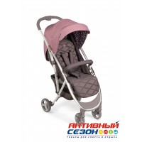 "Прогулочная коляска HAPPY BABY ""ELEGANZA V2"" (pink)"