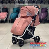 Прогулочная коляска Babalo 2020 Розовый (рама белая)