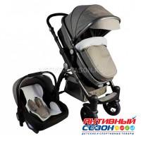 Luxmom 600G (Gold Baby) 3в1 (серый)