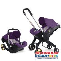 Коляска- Автокресло FooFoo 4в1 (Фиолетовый (Purple))