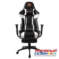 Кресло 133G белый черный