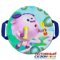 Санки-ледянки «Бараш и мыльные пузыри», d=40 см