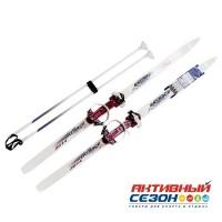 """Лыжи с палками """"Ski Race"""" подростковые (150/100)"""