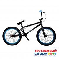 """Велосипед BMX LORAK Jumper 400 (20"""", скор. 1) (Цвет: черный) рама хромомолибденовая"""