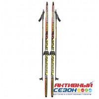 Комплект лыж STC 75 мм  160 см step
