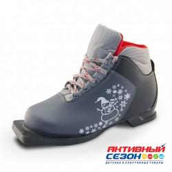 Ботинки TechTeam M350 серый NN75 р-р. 30-35