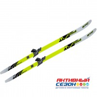 Комплект лыж STC 75 мм  140 см step