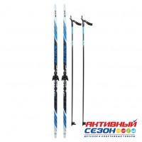 Комплект лыж STC 75 мм  150 см step