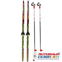 Комплект лыж STC 75 мм  180см step